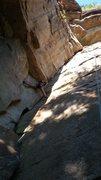 Rock Climbing Photo: Victoria Tran following my lead