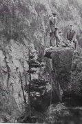 Rock Climbing Photo: F.A. (Ken Henderson, Dana Durand and Leyard Stebbi...