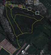 Rock Climbing Photo: Trail map