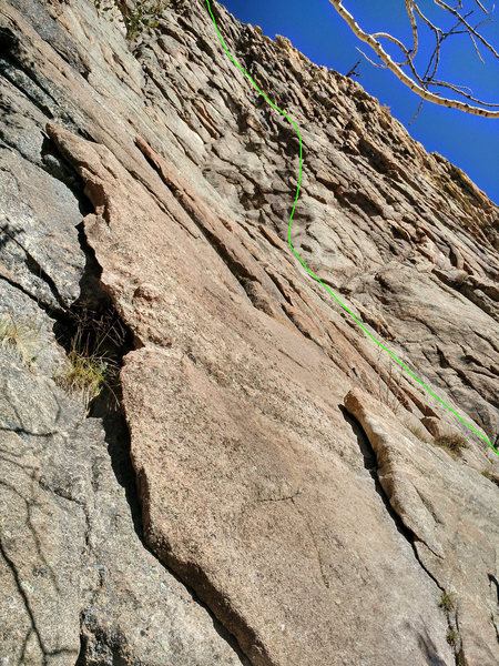 Rock Climbing Photo: Roughly D4. Hope this helps. Not knowing what the ...