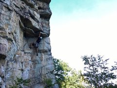 Rock Climbing Photo: Gunks: pitch 1 of Feast of Fools.
