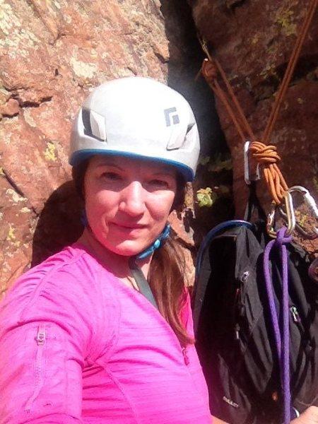 Rock Climbing Photo: pic of me