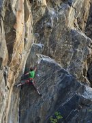 Rock Climbing Photo: Complete Spread Eagle.