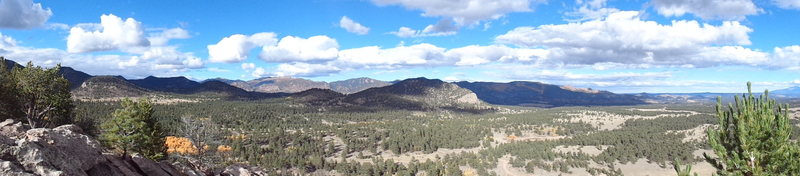 Badger Flats panoramic.