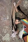 Rock Climbing Photo: Luke on Ramper