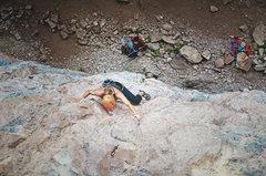 Rock Climbing Photo: Audra Climbing