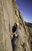 Rock Climbing Photo: My buddy Will climbing