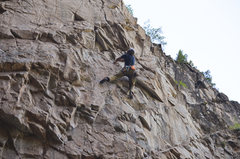Me climbing in Carbendale area
