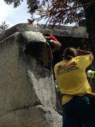 Rock Climbing Photo: Dave Sweezhole Hells Kitchen