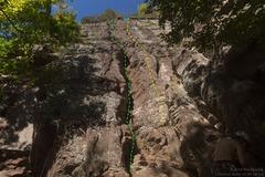 Rock Climbing Photo: Open Face (green) and Open Face Slab (yellow). Sla...