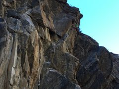 Rock Climbing Photo: Just huck for it! Makes for an awesome hero move f...