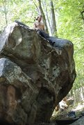 Rock Climbing Photo: This was a great climb definitely between v1-2