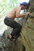 Rock Climbing Photo: Great sit start problem I think this was the secon...