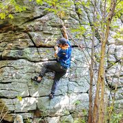 Rock Climbing Photo: Any one know which climb this is