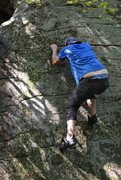 Rock Climbing Photo: Which climb is this one? It had a giant hole in th...