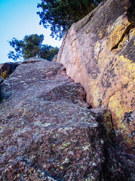 Rock Climbing Photo: The start, really the whole route but I climbed a ...