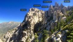 Rock Climbing Photo: The DAB, HOTG and das Pillars!!!