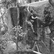 Rock Climbing Photo: Good warmup/warmdown problem!