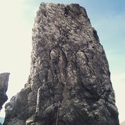 Rock Climbing Photo: Slates Spire 5.5PG-13