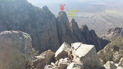 Rock Climbing Photo: lesser spire 2