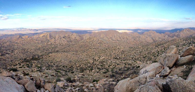 Rock Climbing Photo: Pano from Mexico.