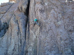 "Rock Climbing Photo: Darren on "" Black Sheep """