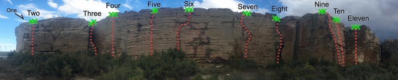 The Warmup Wall at Mentmore
