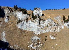Rock Climbing Photo: Brauneck klettergarten, a short hike from the hut/...