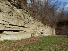 Rock Climbing Photo: This is the less used wall, a bit chossier. But yo...