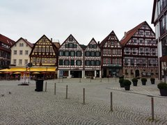Rock Climbing Photo: Beautiful Bad Urach's old town and a short dri...