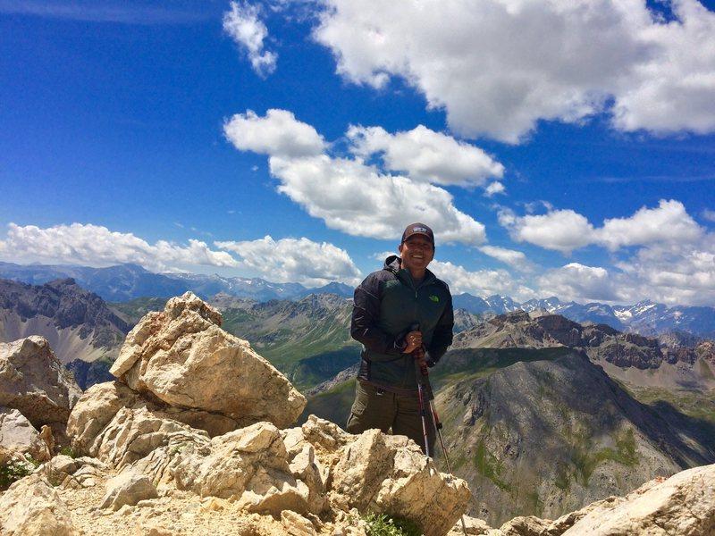 Rock Climbing Photo: Summit near Briancon, France
