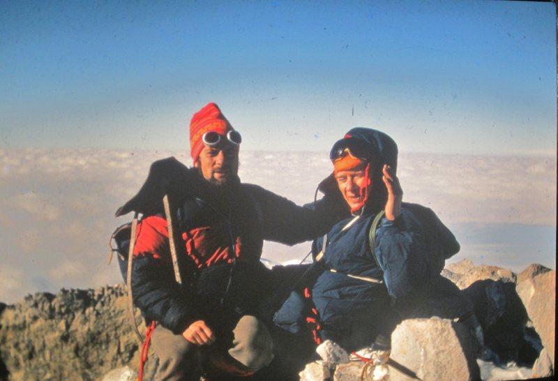 Summit of Orizaba Mx 1972