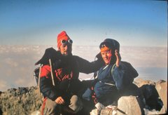 Rock Climbing Photo: Summit of Orizaba Mx 1972