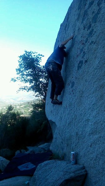 Rock Climbing Photo: HDTV pre-send, post-beer