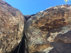 Rock Climbing Photo: the butt bulge