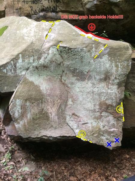 Rock Climbing Photo: Crackhead Clam