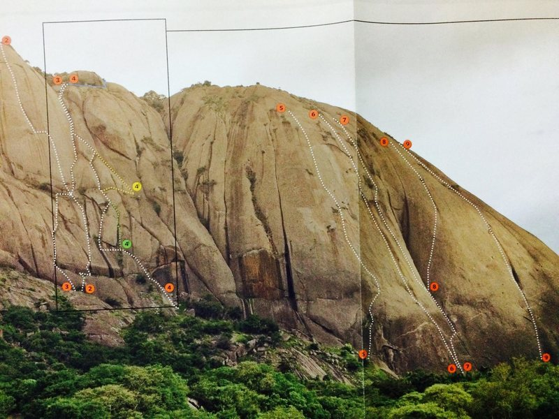 Savandurga topo, courtesy The Outdoor Journal
