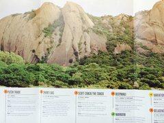 Rock Climbing Photo: Savandurga topo, courtesy The Outdoor Journal
