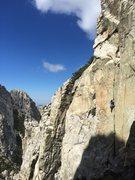 Rock Climbing Photo: Darwin Mega Splitter!!!
