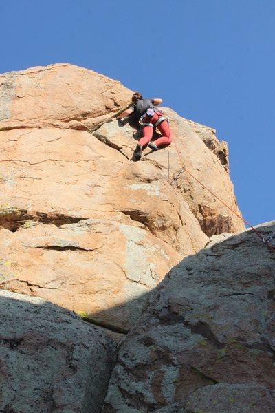Rock Climbing Photo: 5th bolt