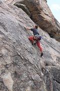Rock Climbing Photo: First bolt
