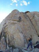 Rock Climbing Photo: Ascending big bear