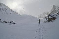 Rock Climbing Photo: Andrews Glacier 10/18/13