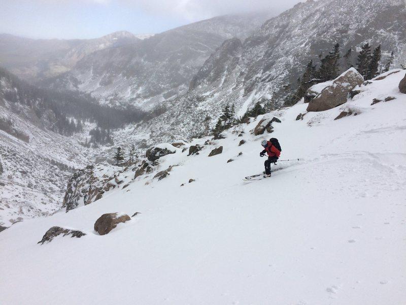 Rock Climbing Photo: Andrews Glacier 10/31/15