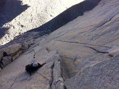 Rock Climbing Photo: 7th pitch