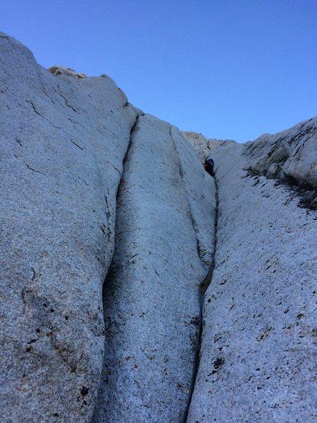 Rock Climbing Photo: Slick!