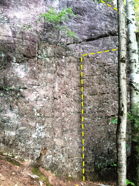 Rock Climbing Photo: Start of Fake ID