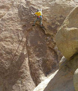 Rock Climbing Photo: Sterling Wilson on The Chameleon.  Photo by David ...