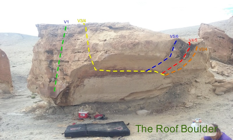 Problems on the Roof Boulder