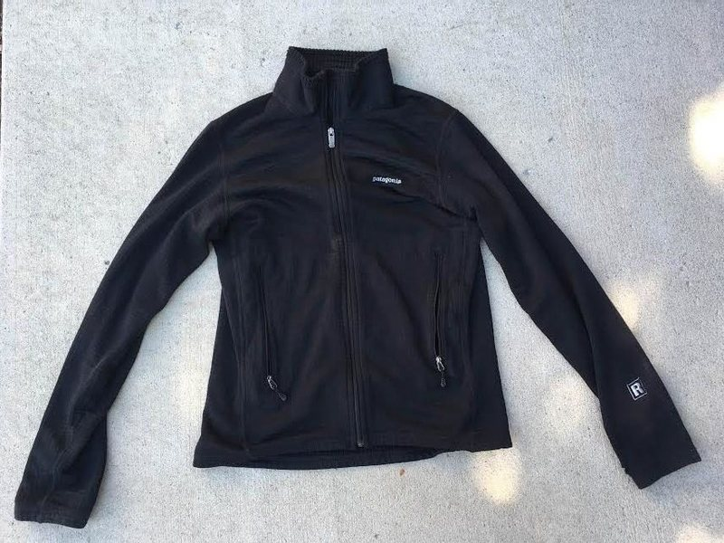 Rock Climbing Photo: Black R1 full zip fleece